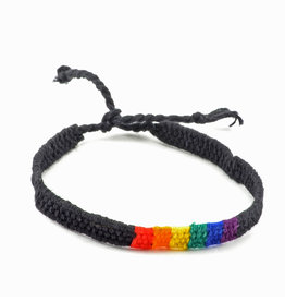 Lucia's Imports Rainbow San Antonio Bracelet