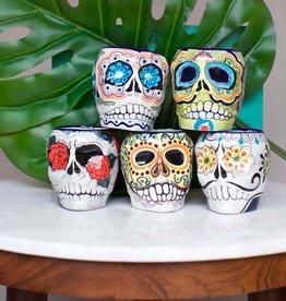 Lucia's Imports Sugar Skull Skeleton Mug
