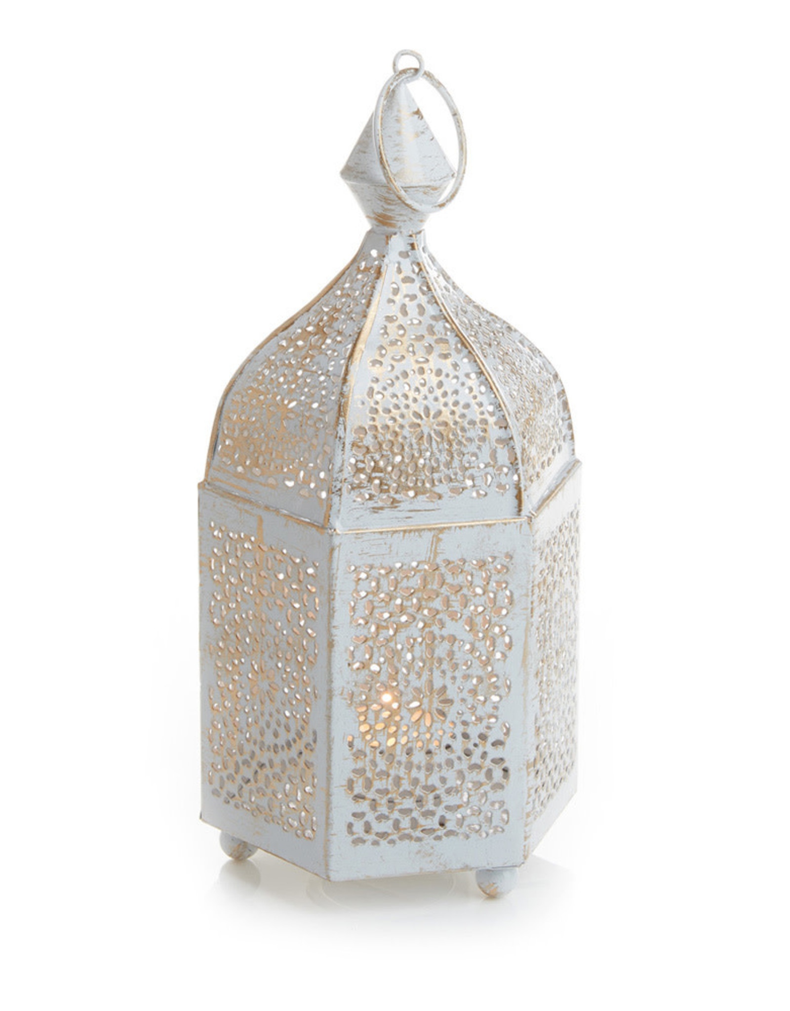 Serrv 6-Sided Minaret Votive Lantern