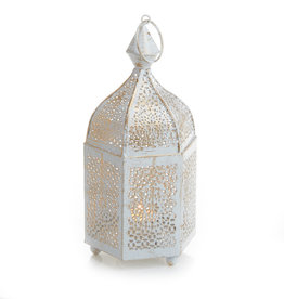 Serrv 6-Sided Minaret Votive Lantern