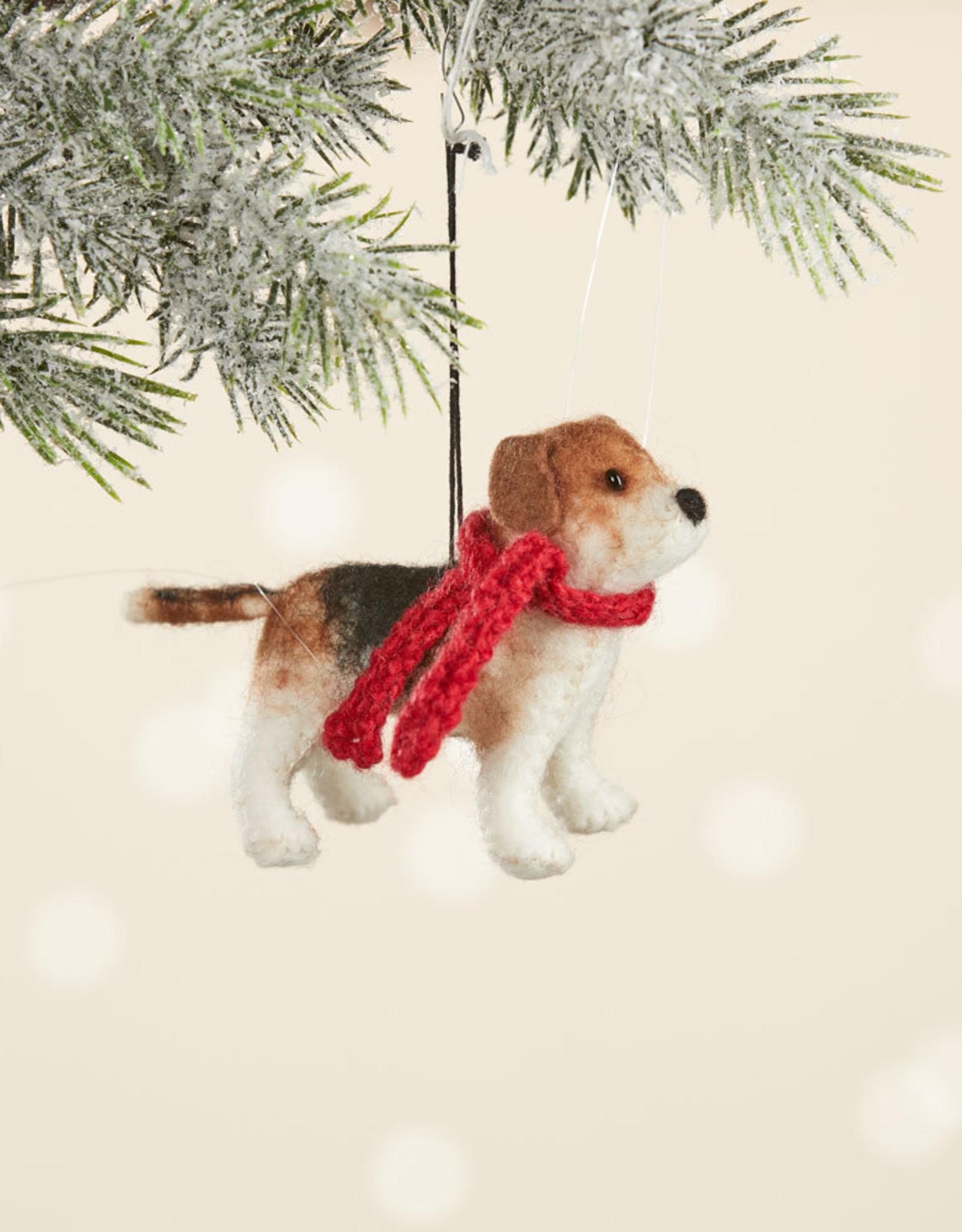 Serrv Beagle Ornament