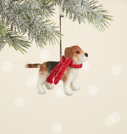 Serrv Beagle Ornament