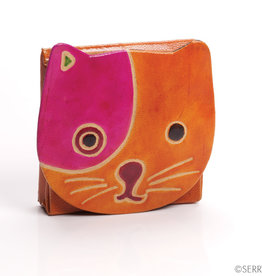 Serrv Cat Coin Purse