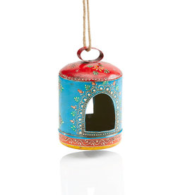 Serrv Rangeni Painted Bird Feeder