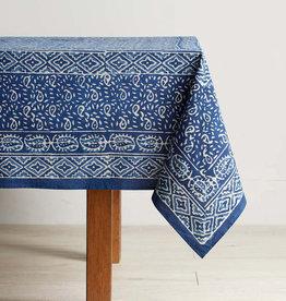 Serrv Wave Dabu Tablecloth