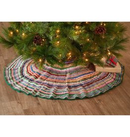 Serrv Nepali Remnant Holiday Tree Skirt