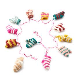 Serrv Nepali Remnant Socks & Mittens Garland