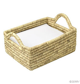 Serrv Kaisa Grass Tray Basket