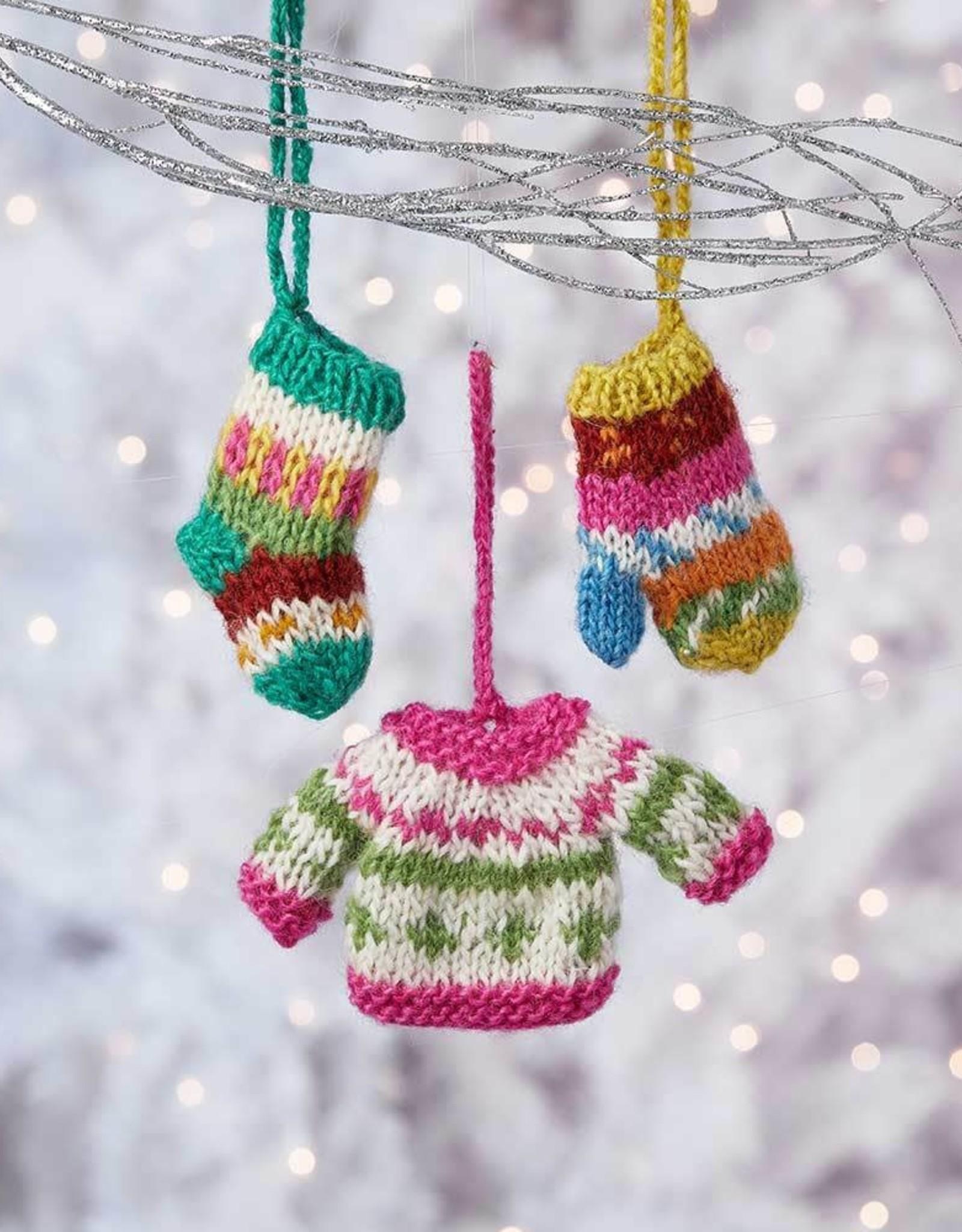 Serrv All Bundled Up Ornament