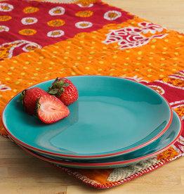 Serrv Turquoise Song Cai Dessert Plate
