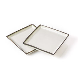 Serrv Modern Line Square Plate