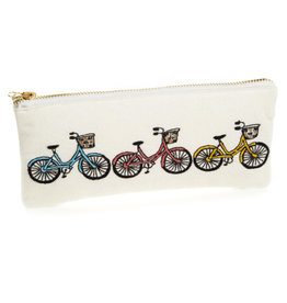 Serrv Bicycle Trio Zipper Pouch - Small