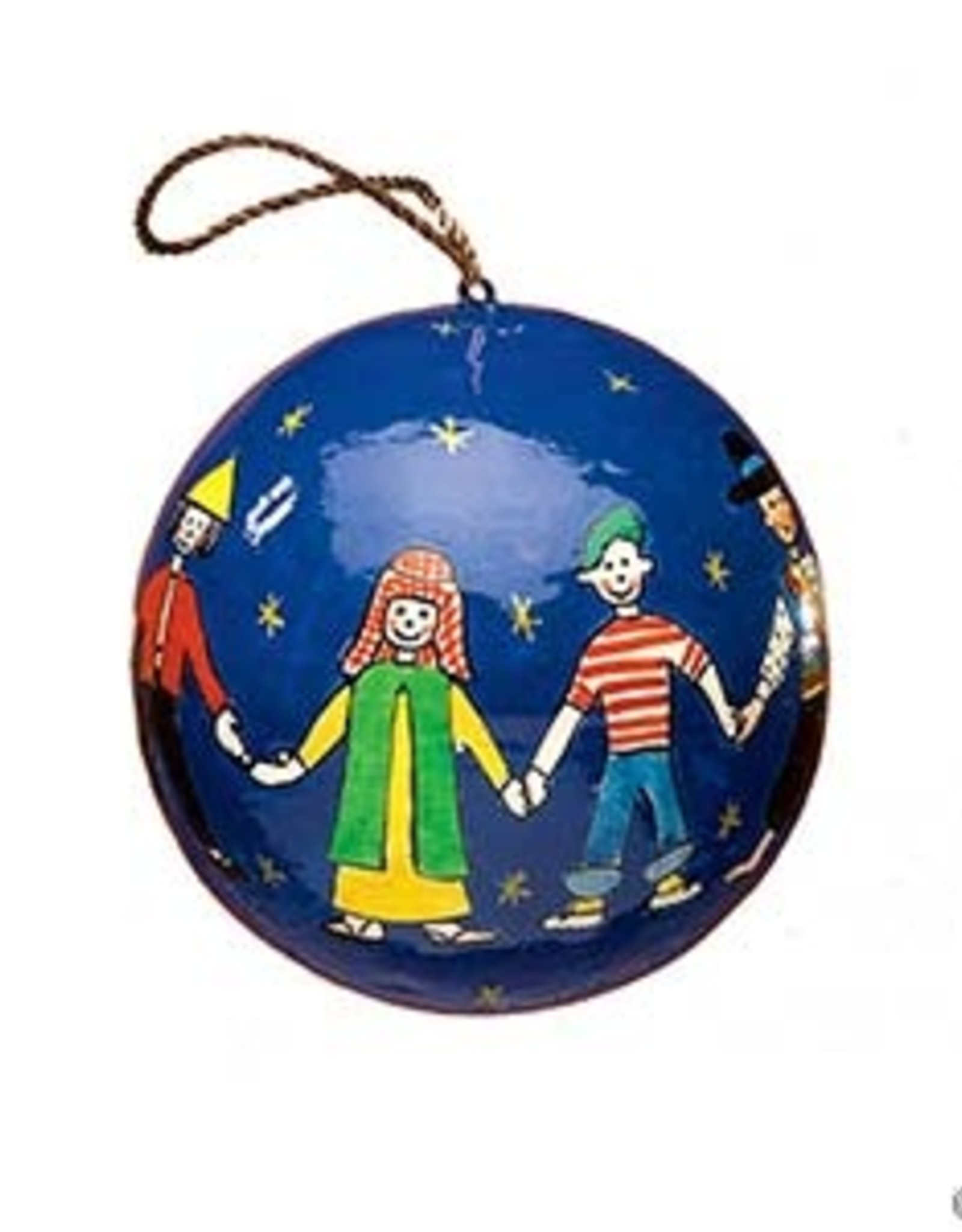 Serrv Children of The World Ornament