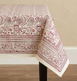 Serrv Cranberry Vine Tablecloths