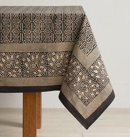 Serrv Geo Block Print Tablecloth