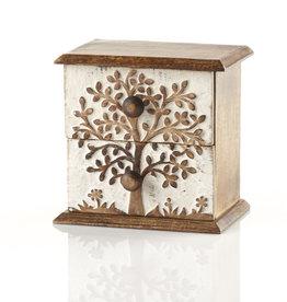Serrv Tree of Life Mini Chest