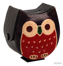 Serrv Wise Owl Coin Box
