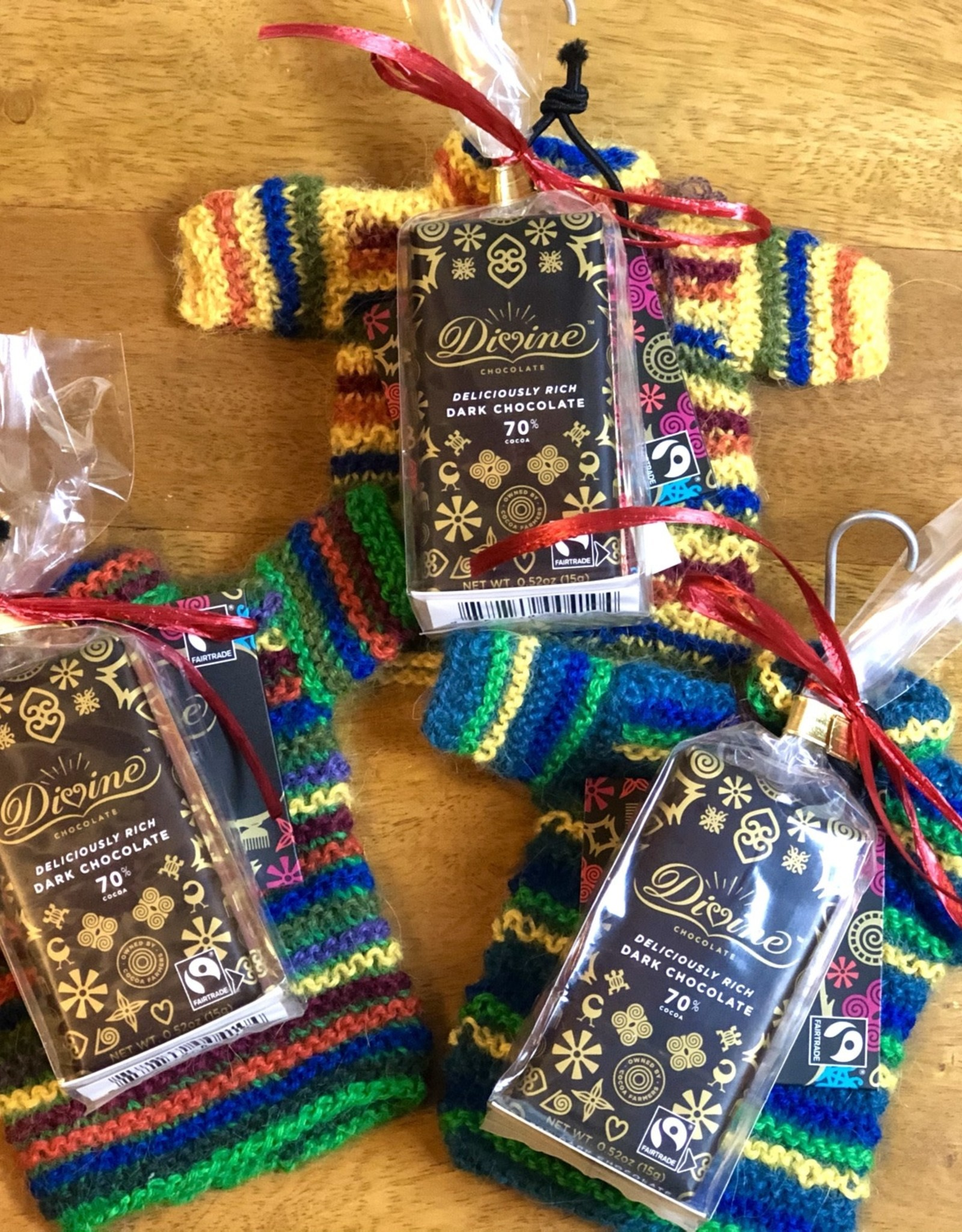 Chocolate Sampler & Ornament Gift Bundle