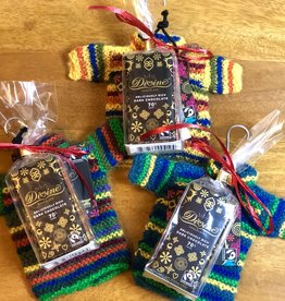 Chocolate Sampler & Ornament Gift Bundle