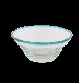 Sobremesa Tiny Aqua Rim Bowl