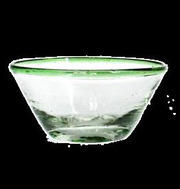 Sobremesa Tiny Green Rim Bowl