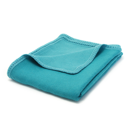 Sobremesa Teal Alpaca Throw