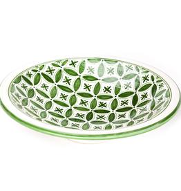 Sobremesa Green Fez Large Serving Bowl
