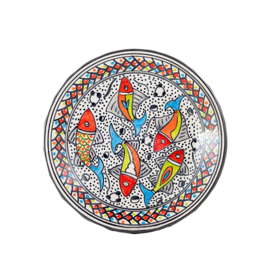 Sobremesa Rainbow Fish Side Plate