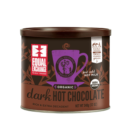 Equal Exchange Organic Dark Hot Chocolate Mix - 12oz