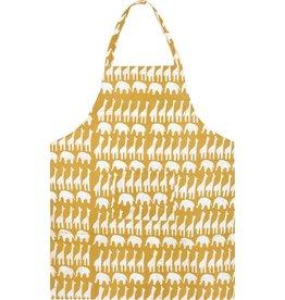Global Mamas Apron Adult Sahara Mustard