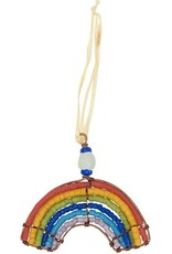 Beaded Rainbow Ornament