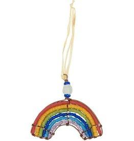 Global Mamas Beaded Rainbow Ornament