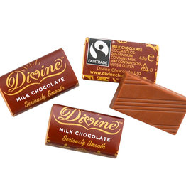 Divine Chocolate Milk Chocolate Minis - bag of 100