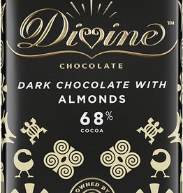 Divine Chocolate Dark Chocolate with Almonds