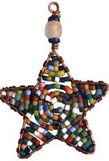 Global Mamas Beaded - Star Mini: Rainbow