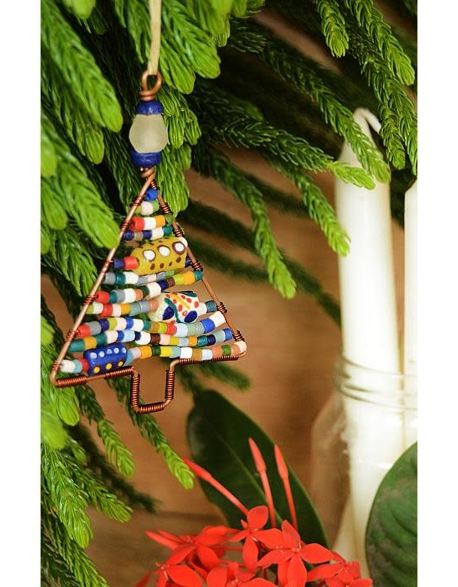 Beaded - Tree Mini: Rainbow