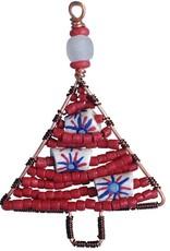 Beaded - Tree Mini: Red