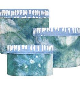 Global Mamas Stackable Bins - Watercolor Olive
