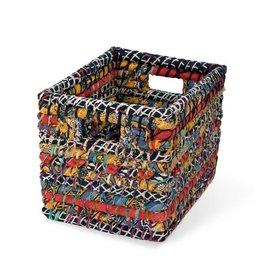 Ten Thousand Villages Sari Storage Basket