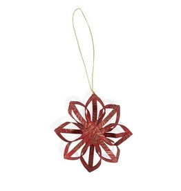 Ten Thousand Villages Touch of Gold Star Ornament