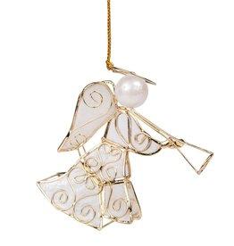 Golden Trumpet Capiz Angel