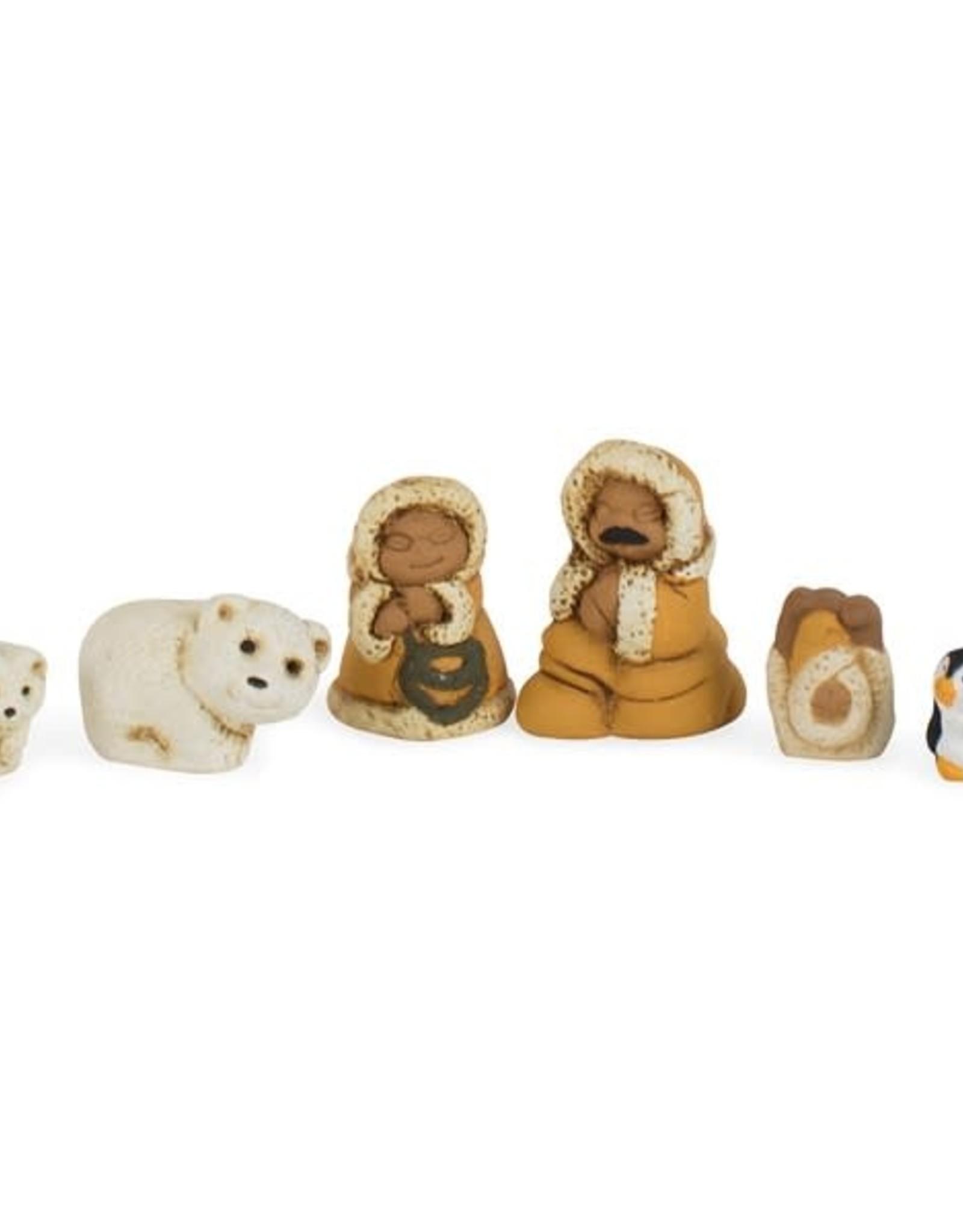 Arctic Family Nativity