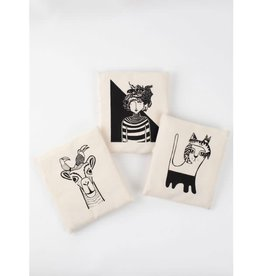 Cat & Fish Shopping Bag