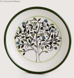 Ten Thousand Villages Tree of Life Dish