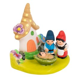Ten Thousand Villages Garden Gnome Nativity