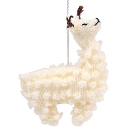 Ten Thousand Villages Fa-La-Llama Ornament