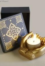 Ten Thousand Villages Sharing Light Candleholder