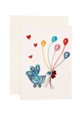 Sweet Stroller Greeting Card