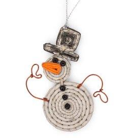 Hello Snow Ornament