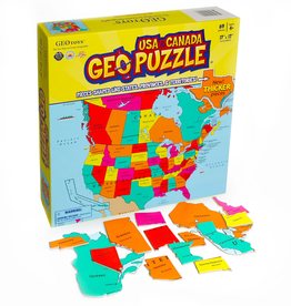 Geotoys GeoPuzzle USA and Canada